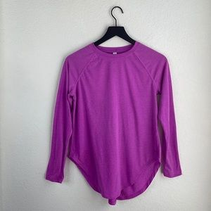 Under Armour Long Sleeve Open Back Size XS